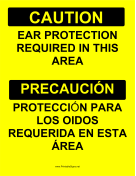 Ear Protection Bilingual