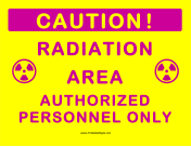 Radiation Area Authorized Personnel
