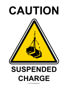 Caution Suspended Charge