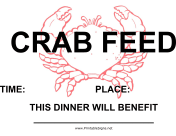 Crab Feed Fundraiser