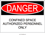 Confined Space Authorized Personnel