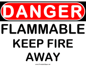 Danger Flammable 2