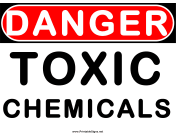 Danger Toxic Chemicals