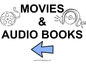 Movies and Audio Books - Left