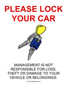 Lock Your Car
