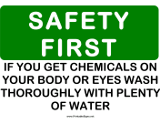 Safety Chemicals