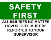Safety Report Injuries