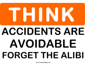 Think Accidents Are Avoidable