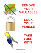 Three Steps to Secure Your Vehicle
