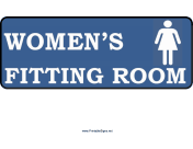 Women Fitting Room