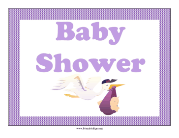 Baby Shower Lawn Sign Sign