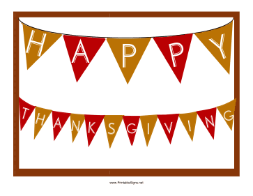 photo regarding Closed for Thanksgiving Sign Printable known as Printable Satisfied Thanksgiving Signal