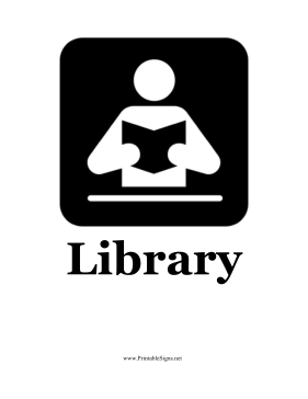 Library Graphical Sign