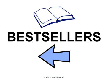 Bestsellers - Left Sign