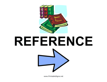 Reference Section - Right Sign