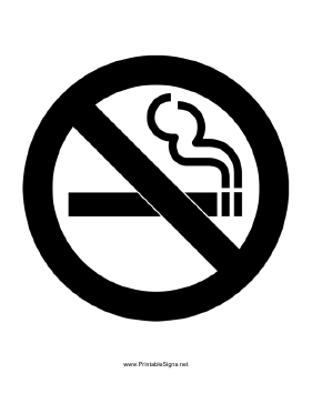 graphic about No Smoking Sign Printable referred to as Printable No Using tobacco Indication
