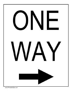one way sign coloring pages - photo#7