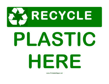 picture about Recycle Signs Printable known as Recycling Signs or symptoms
