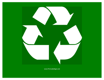 photograph regarding Recycle Labels Printable titled Recycling Signs or symptoms