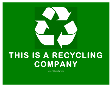 image about Printable Recycle Symbol called Recycling Symptoms