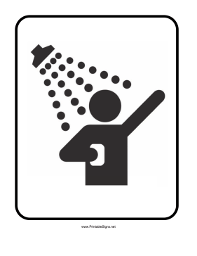 Showers Sign
